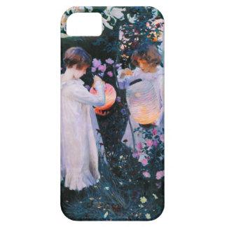 Lirio del lirio del clavel de John Singer Sargent  iPhone 5 Protector