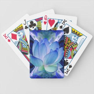 Lirio del loto azul cartas de juego