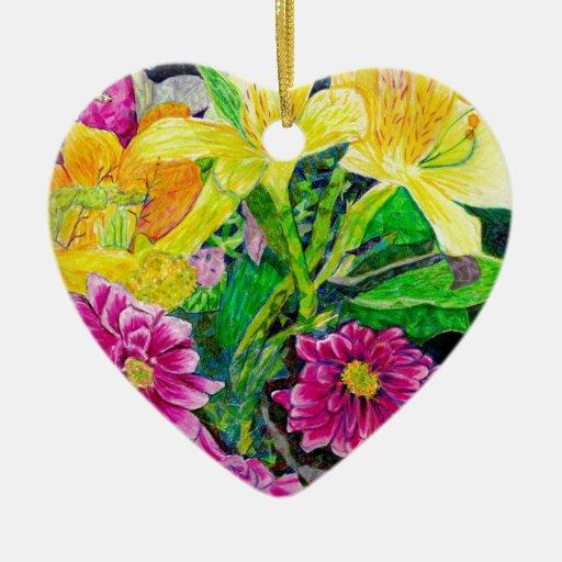Lirio del zinnia del arte del jardín del verano adorno de reyes