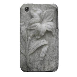 Lirio en la piedra iPhone 3 funda
