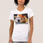 Lirio hermoso, dogo inglés camiseta