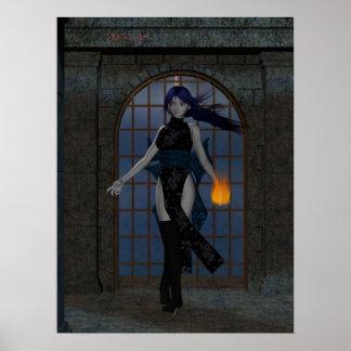 lirio hola res del vampiro poster
