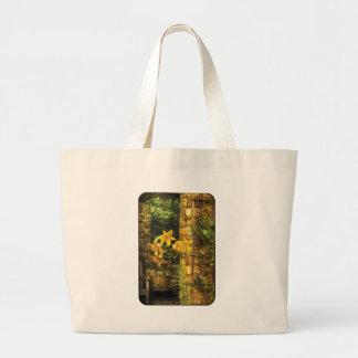 Lirio - lirio amarillo bolsa lienzo