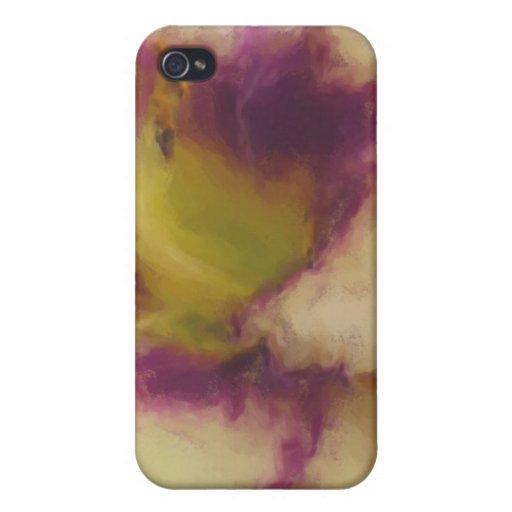 Lirio pintado iPhone 4 coberturas