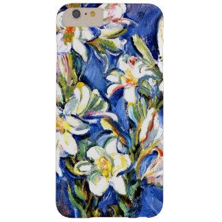 Lirio, pintura floral funda para iPhone 6 plus barely there