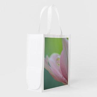 Lirio rosado bolsas para la compra