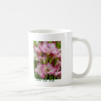 Lirio rosado taza clásica