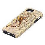 Lirio tigrado iPhone 5 Case-Mate protectores