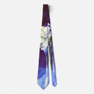 Lirios 1900 corbata personalizada