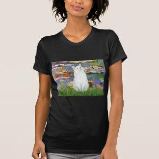 Lirios 2 - Gato blanco Camisetas