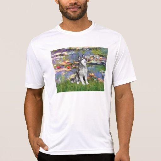 Lirios 2 - Malamute de Alaska Camisetas
