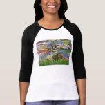 Lirios 2 - Noruego Elkhound Camisetas