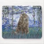 Lirios 6 - Gato noruego del bosque Alfombrillas De Ratones