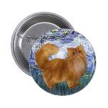 Lirios 6 - Gato persa rojo Pin
