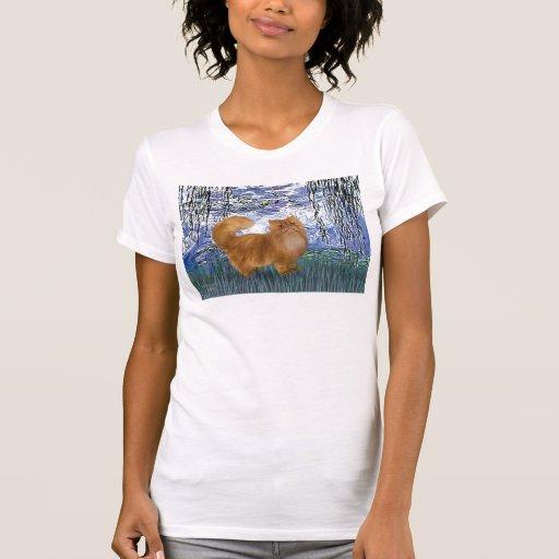 Lirios 6 - Gato persa rojo Tshirt