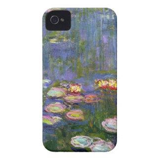 Lirios de agua 10 iPhone 4 Case-Mate carcasa
