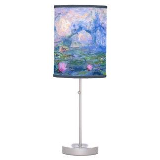 Lirios de agua 1 lámpara de escritorio