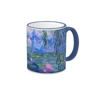 Lirios de agua 1 taza a dos colores