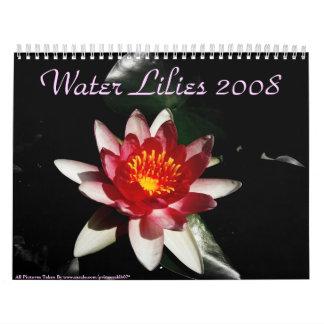 Lirios de agua 2008 calendarios