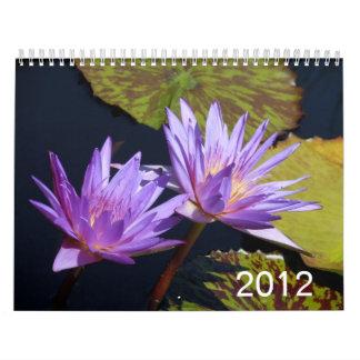Lirios de agua 2012 calendarios