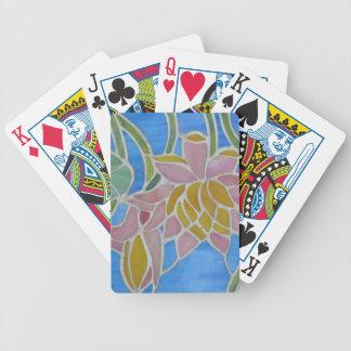 Lirios de agua 2 barajas de cartas