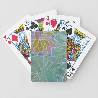 Lirios de agua cartas de juego