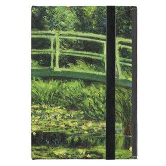 Lirios de agua blanca de Monet, impresionismo del iPad Mini Cárcasas