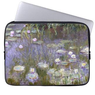 Lirios de agua (c.1922) por Claude Monet Funda Computadora