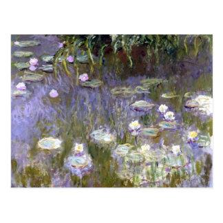 Lirios de agua (c.1922) por Claude Monet Postal