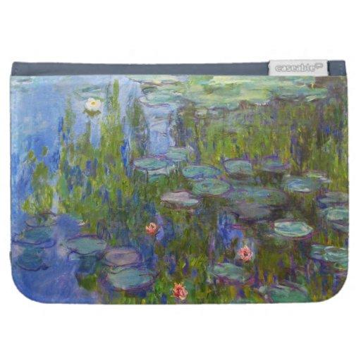 Lirios de agua, Claude Monet 1915 fresco, viejos,