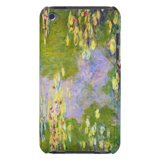 Lirios de agua, Claude Monet 1919 iPod Case-Mate Protector