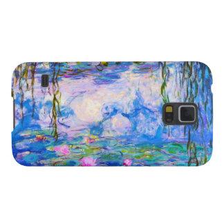 Lirios de agua Claude Monet Carcasas De Galaxy S5