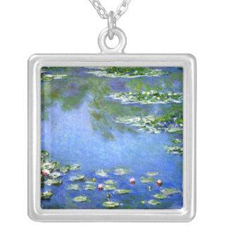 Lirios de agua, Claude Monet Colgante Cuadrado