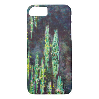 Lirios de agua Claude Monet fresco, viejo, Funda iPhone 7