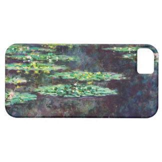Lirios de agua Claude Monet fresco, viejo, Funda Para iPhone SE/5/5s