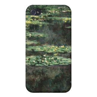 Lirios de agua - Claude Monet iPhone 4 Funda