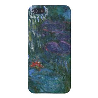 Lirios de agua - Claude Monet iPhone 5 Carcasas