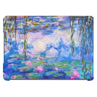 Lirios de agua Claude Monet Funda Para iPad Air