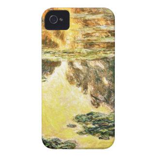 Lirios de agua Claude Monet Funda Para iPhone 4