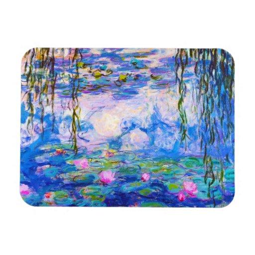 Lirios de agua Claude Monet Imán