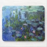 Lirios de agua, Claude Monet Tapete De Raton