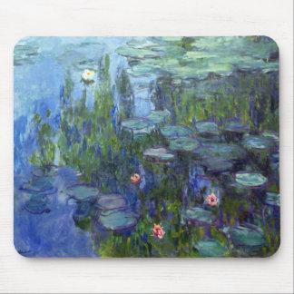 Lirios de agua, Claude Monet Alfombrillas De Raton