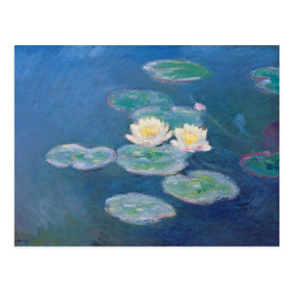 Lirios de agua - Claude Monet Tarjeta Postal
