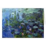 Lirios de agua, Claude Monet Tarjetas
