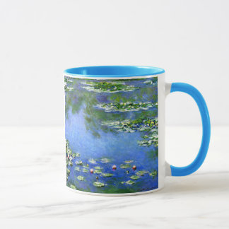 Lirios de agua, Claude Monet Taza