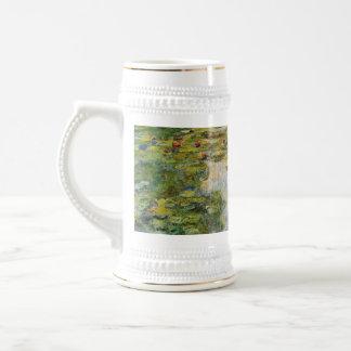 Lirios de agua - Claude Monet Taza