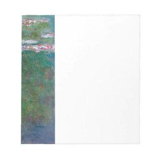 Lirios de agua de Claude Monet // Bloc De Papel