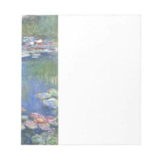 Lirios de agua de Claude Monet // Blocs