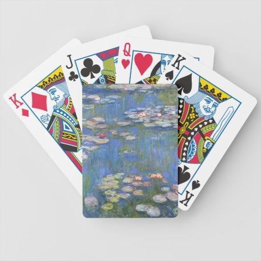 Lirios de agua de Claude Monet // Cartas De Juego