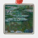 Lirios de agua de Claude Monet // Adornos De Navidad